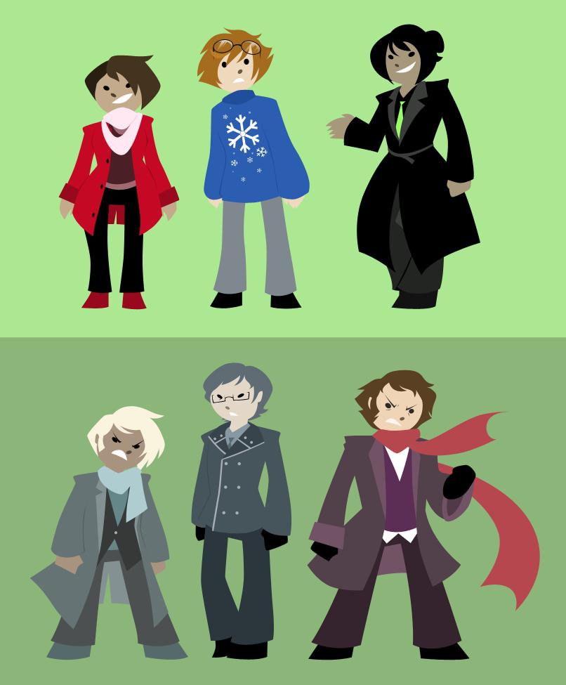 Bonus-- Character models